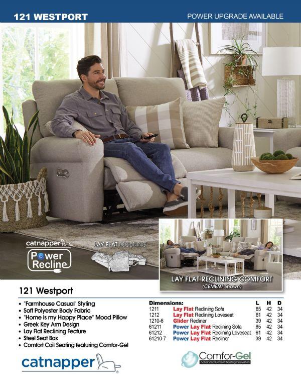 Catnapper Westport Sofa/Love