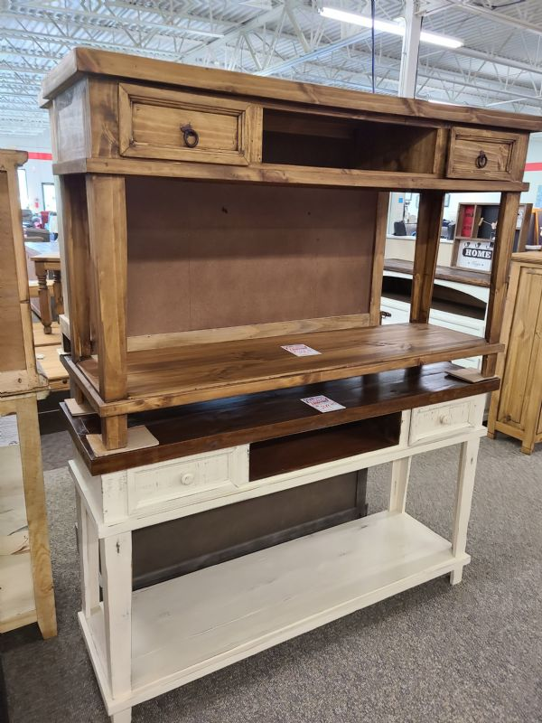Rustic 2 Drawer TV Stand