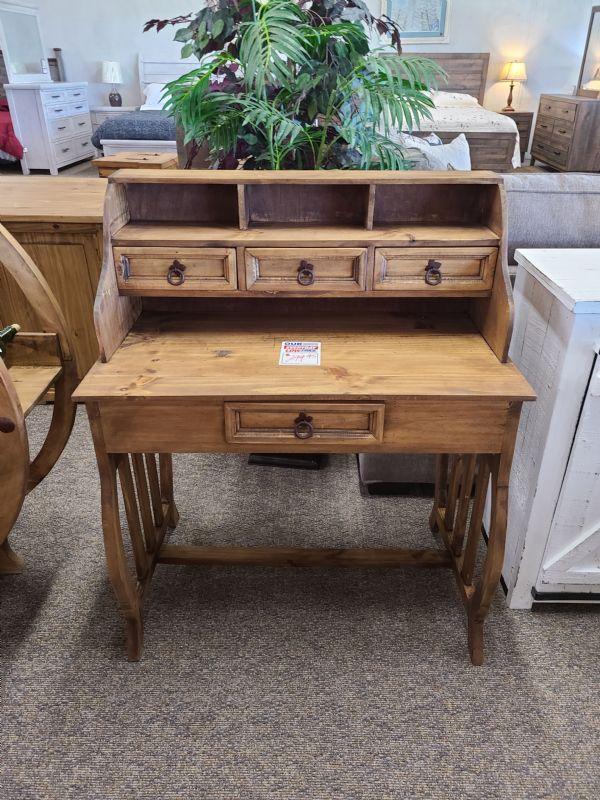 Rustic Lyra Desk
