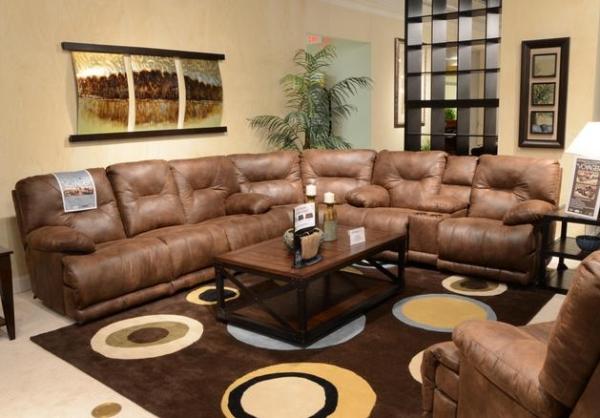 Catnapper Voyager Triple Reclining Sofa/Love