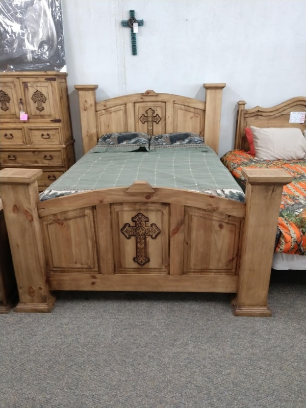 Rustic Cross Bed