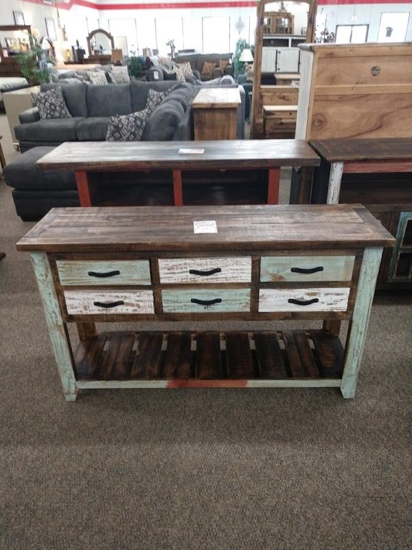 Rustic Cabana Sofa Table