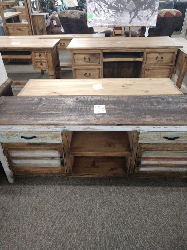Rustic Cabana 2 Door/2 Drawer TV Stand
