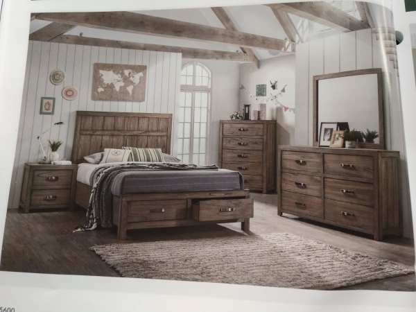 Arcadia Storage Bedroom Suite