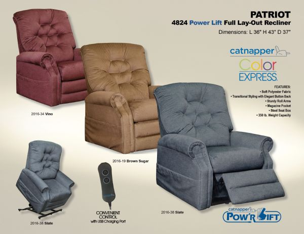 Catnapper Patriot Lift Chair