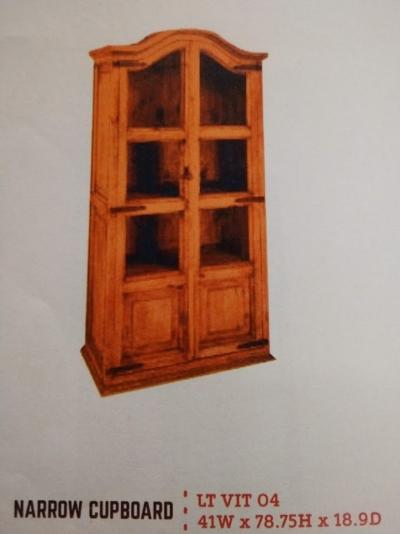 Rustic Narrow Cupboard