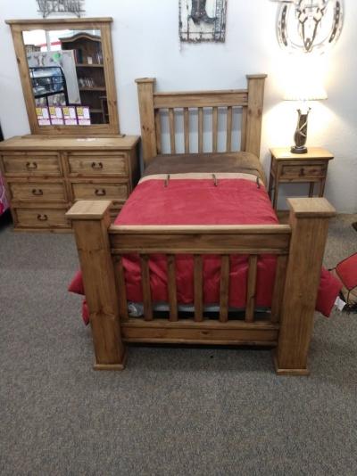 Rustic San Augustin Bed