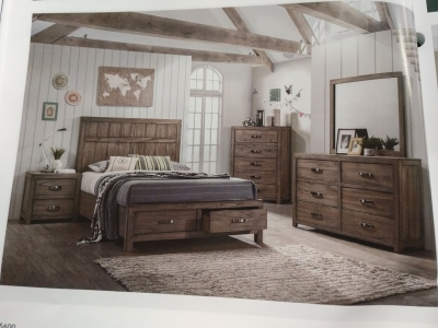Arcadia Storage Bedroom Suite