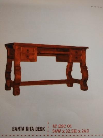 Rustic Santa Rita Desk